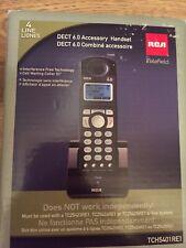 RCA 4 Line Cordless Phone. DECT 6.0 Accessory Handset, Speaker Phone.