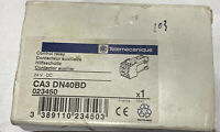 Telemecanique Control Relay CA3 DN40BD Brand New Factory Sealed!