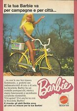 X9385 Barbie in bicicletta - Pubblicità 1975 - Advertising