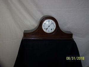 New Haven Conn., Antique c1917 New Haven Tambour #14 Mantle Clock