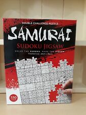 550 Piece Jigsaw Puzzle - Samurai Sudoku - New