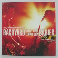 BACKYARD BABIES - Safety Pin & Leopard Skin LP 1998 SWEDEN ORIG w/ slipmat