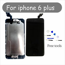 "For Home Button+Camera Black Replacement iPhone 6 Plus 5.5"" LCD Screen Digitizer"