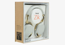 PARROT Zik Wireless Headphones Design by Stark White/Gold NFC NUOVO NEW SEALED