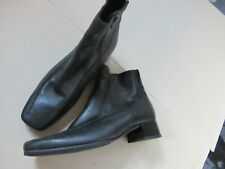 GABOR SOFT BLACK LEATHER ANKLE BOOTS UK 3.5 STD EXCELLENT CONDITION RRP £85 #2 *