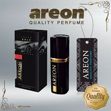 Areon Luxury Car Perfume Long Lasting Air Freshener TOP QUALITY - GOLD 50ml NEW