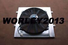 Aluminum shroud + fan for LandCruiser 75 Series 2H 4.0 Diesel HJ75