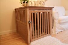 New Oak Dog Crate 79cmx64cmx60cm