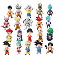 Mini Dragon Ball Z Super Saiyan Son Gohan Goku Figure Trunks Vegeta