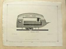 Planche Auto carrosserie Remorque caravane camping  camion brochure prospectus