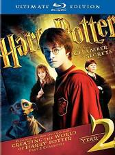 Harry Potter and the Chamber of Secrets (Blu-ray Disc, 2009, 3-Disc Set, WS...
