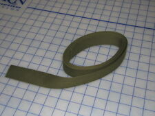 """cotton duck OD strap webbing textile USA made 1 1/4"""" wide 10 FT hack tie down"""