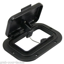 Caravan /Boat Air Vent Scupper Black Nylon Deck Scupper Transom Camper Trailer