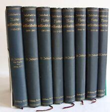 Wildermann, Max. (Hrsg.). Jahrgänge 1899 - 1907. 8 Bänd