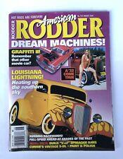 American Rodder Magazine Back Issue August 2000