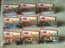 Disney Cars 9 Pit ROW RACE-OFF Launcher King Octane Trunk No Stall RPM Leak Less