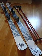 Pack Ski K2 + Fixations Marker + Batons + Housse de rangement