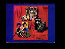 Monkees British Rock Great Speeches RHINO RECORDS 1991 Promotional Postcard Mail
