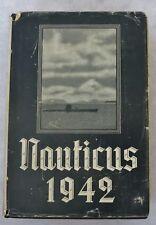 Vintage WW2 GERMAN NAVAL YEARBOOK NAUTICUS 1942 Navy Book