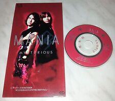 "CD MANIA - MYSTERIOUS - FLDF-1535 - JAPAN 3"" INCH - PROMO - SINGLE"