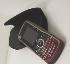Motorola Clutch i465 - Red (Boost Mobile) Smartphone