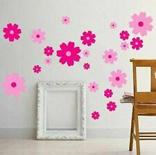 Pink Flowers Home Decor Girls Children's Room/Nursery Wall Stickers Art Decal