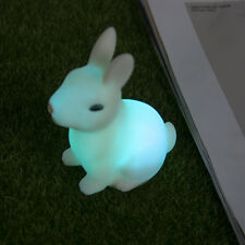 Cartoon Animal Sleep LED Night Light Rabbit Lamp Color Changing Kids Gifts Toys