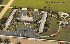 Winter Park Florida Mt Vernon Inn Birdseye View Antique Postcard K53157