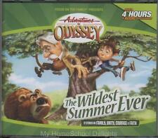 NEW Adventures in Odyssey #2 THE WILDEST SUMMER EVER 4 CD Audio Set Sealed FOTF