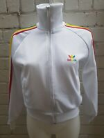 Adidas Originals Track Top Size S Jamaica Rasta Reggae Men's Jacket White