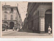 Algiers Rue Bab Azoun Algeria RP Postcard 319b