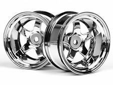 HPI Work Meister S1 Wheel 26mm Chrome (9mm Offset) #3593