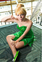 Fairy Tinker Bell Tinkerbell Short Synthetic Hair Wig Wigs for Halloween Cosplay