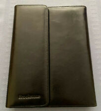 Brookstone iPad Case - Soft Black Leather w/ Bluetooth Keyboard & Charger