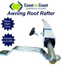 1x Coast Curved Caravan Rafters Carefree Dometic Roll Out Awning Similar Supex