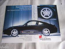 Roock SPORT sistema COMPETITION/RSC 330 prospetto/brochure/DEPLIANT, D