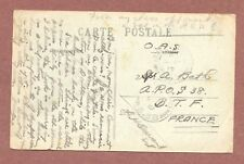 Doullens France, 1919, Sapper M.A. Bath, A.P.O., S38 censor Stamp, Chess RK299