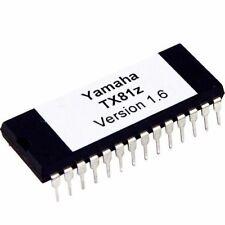 Yamaha TX81z Updated Firmware EPROM Version 1.6 Latest OS Upgrade Update