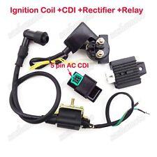 Ignition Coil CDI Regulator Relay 50 70 90 110cc ATV Baja Taotao GIO Kazuma Sunl