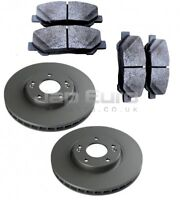 For TOYOTA ESTIMA PREVIA + HYBRID FRONT AXLE WHEEL BRAKE DISC & PAD SET
