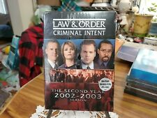 LAW & ORDER: CRIMINAL INTENT - THE SECOND YEAR DVD BRAND NEW UNOPENED