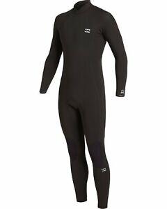 Billabong Absolute 4/3 Back Zip Wetsuit - Men's - Medium / Black