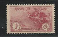 FRANCOBOLLI - 1926/27 FRANCIA PRO ORFANI MLH E/1496