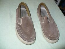 ss SPERRY TOP-SIDER BROWN LEATHER SNEAKERS MENS 9M