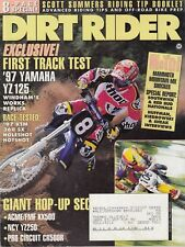 DIRT RIDER - October 1996 - Red Bud & Southwick MX's / Mammoth Mountain / YZ125