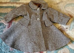 Gorgeous Vintage Coat For French Or German Bisque Doll