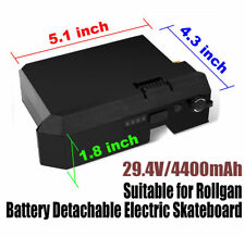 Rollgan Battery Fit for Battery Detachable Electric Skateboard
