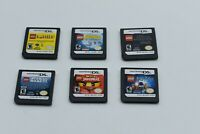 Lot of 6 Nintendo DS Lite DSi XL 3DS 2DS Games LEGO games - FREE FAST SHIPPING