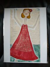 Unique authentic artist jody carlson cain picture ready to be framed sealed NEW