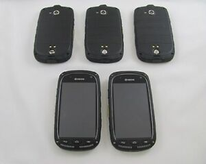 5 Kyocera E6710 Torque Sprint Cell Phone Lot GOOD